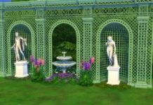 Версальский декор от TheJim07 для Sims 4
