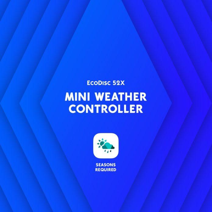 Мод «Мини-контроллер погоды» от lot51 для Sims 4
