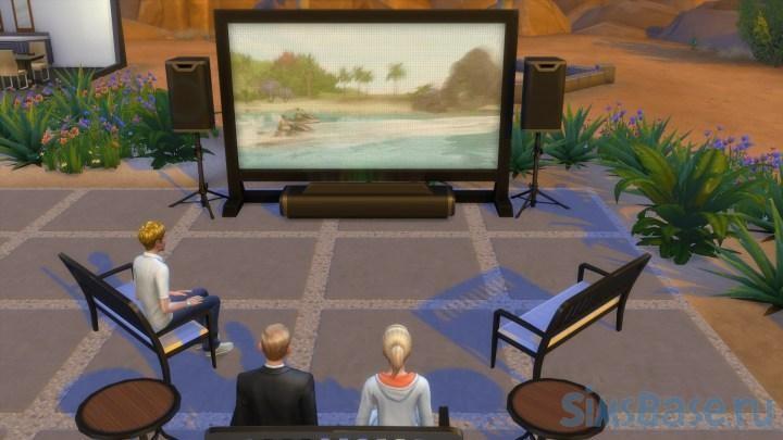 Мод «Без переключения каналов» от scarlet для Sims 4