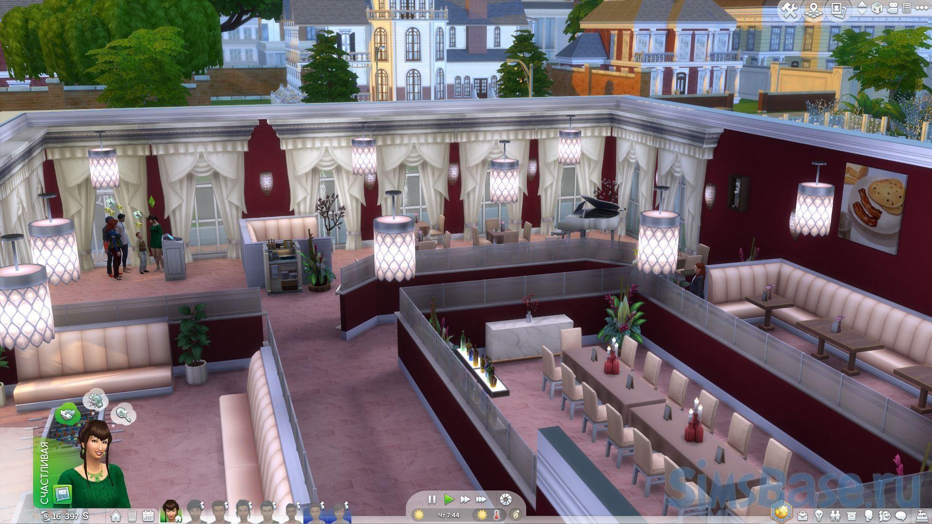Руководство по управлению пятизвездочным рестораном Sims 4. Часть 1