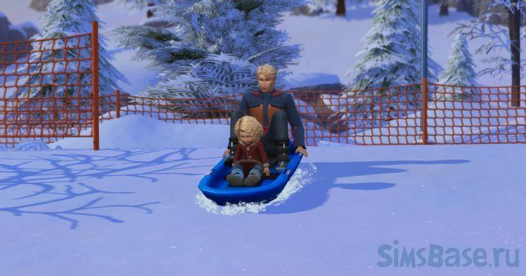 Рейтинг занятий в Sims 4 Снежные просторы. Часть 2