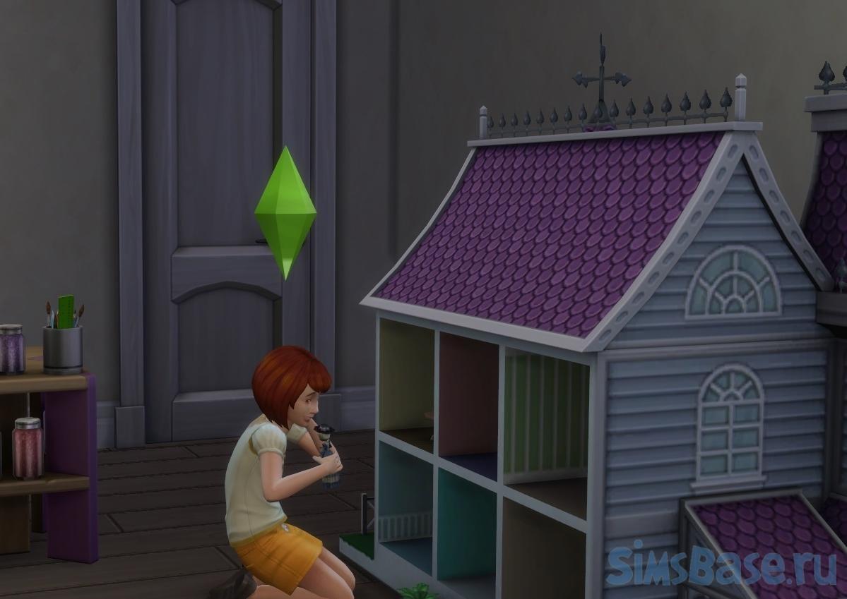 Мод «Кукольные домики не ломаются» от asmileforjenna для Sims 4