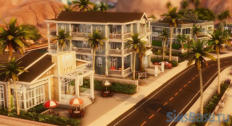 Новый мир-сохранение ratsave 1.0 от ratboysims для Sims 4