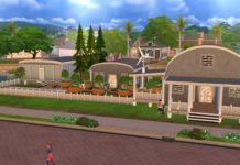 Жилой особнячок с пристройками от Karon для Sims 4