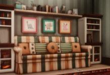 Квартира Шик 21-1313 от greenjeensims для Sims 4