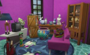 Жилой дом «Заброшенность» от Innamode для Sims 4