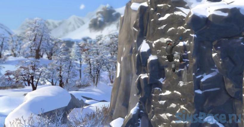 Странные нововведения Sims 4 Снежные просторы. Часть 2