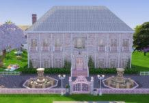 Жилой дом «Розовая страсть» от Brainl3ss для Sims 4