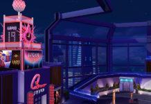 Ночной клуб «Поцелуй» от LLAMABUILDS для Sims 4