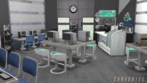 Интернет-кафе от Caradriel для Sims 4