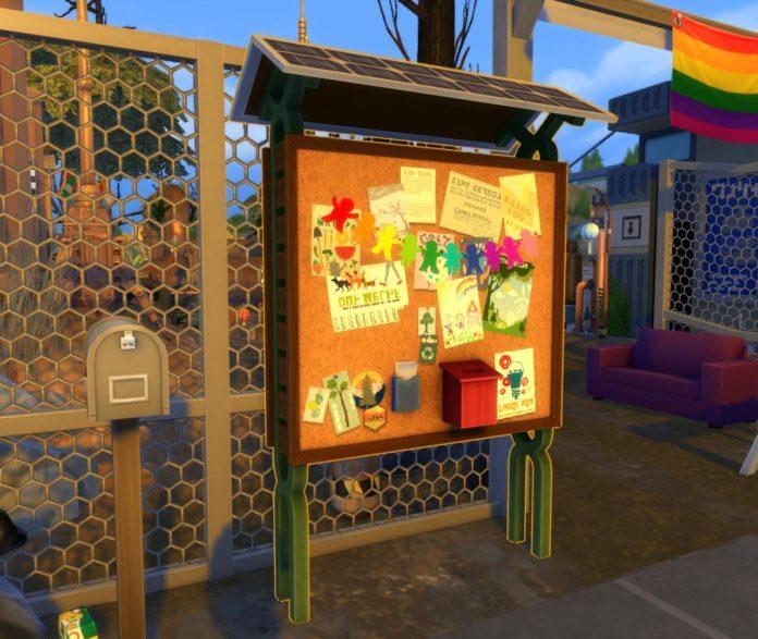 Мод «Доски Общественного мнения незаметны» от endermbind для Sims 4