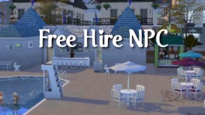 Мод «Бесплатный найм NPC» от scarlet для Sims 4