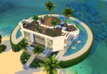 Жилой дом «Голубая жемчужина» от Bellusim для Sims 4