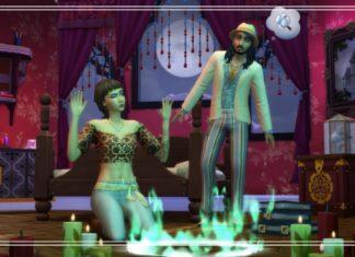 Как вызвать хаос в доме с призраками в Sims 4 Паранормальное. Часть 1