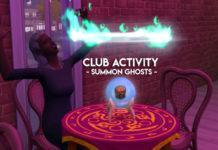 Мод «Клубная деятельность Паранормальное» от ChippedSim для Sims 4