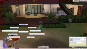 Мод «Свойство участка Лагерь археологов» от missyhissys для Sims 4