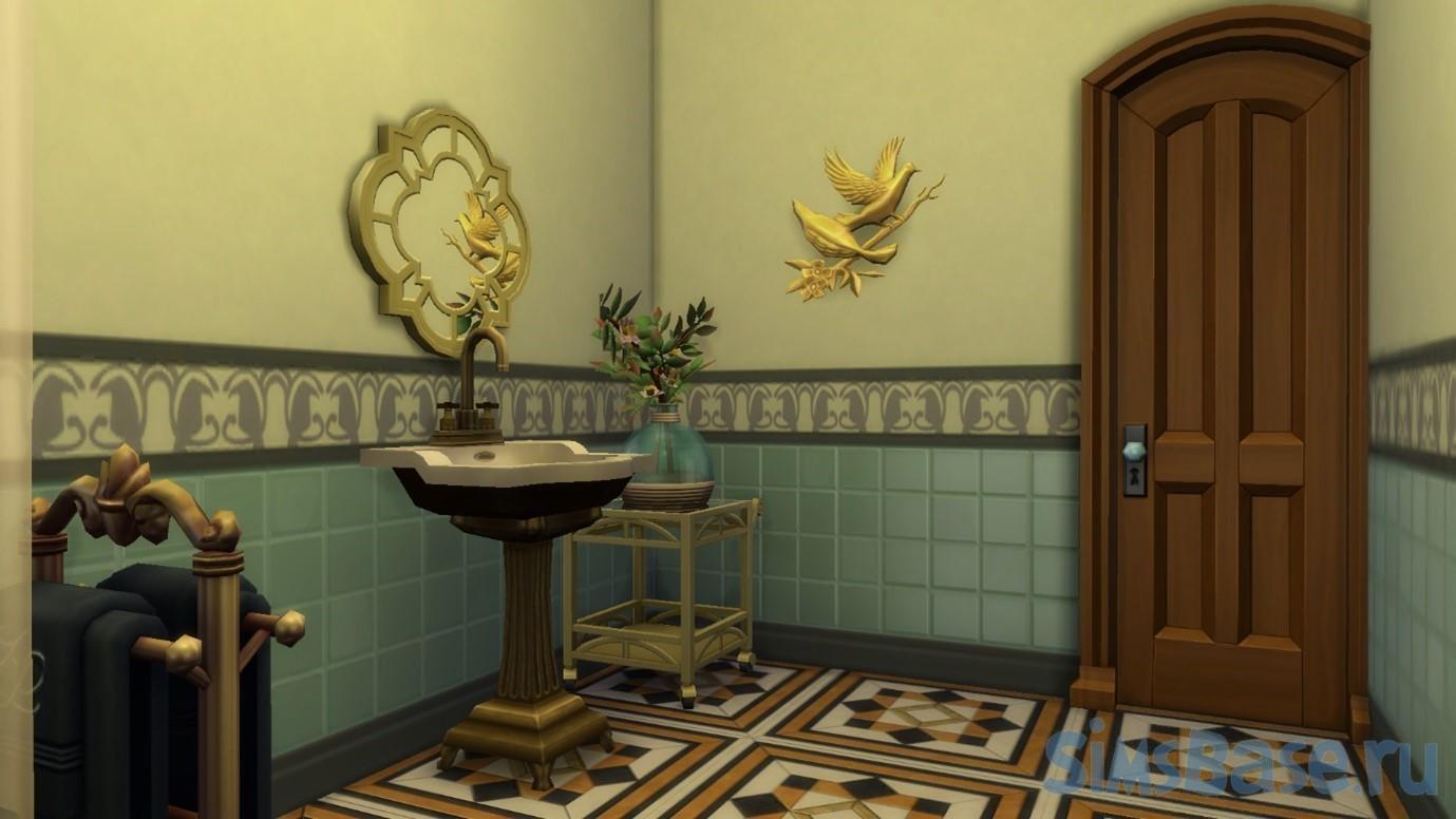 Строительство собственного дома с призраками в Sims 4 Паранормальное