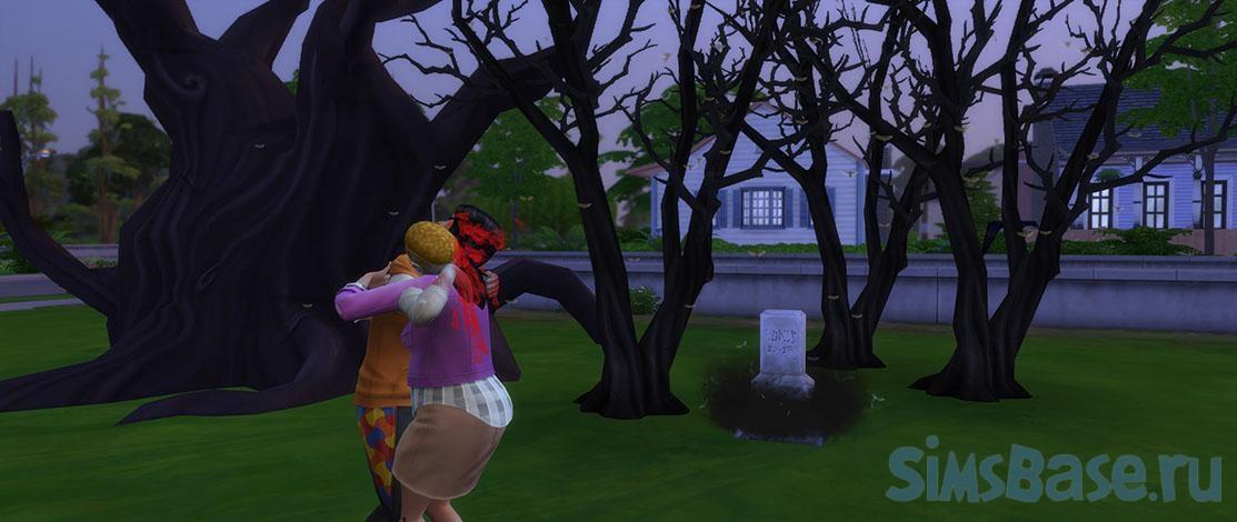 Мод «Зомби Апокалипсис» от Sacrificial для Sims 4