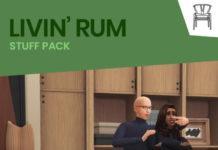 Каталог мебели LIVIN' RUM от Felixandre для Sims 4