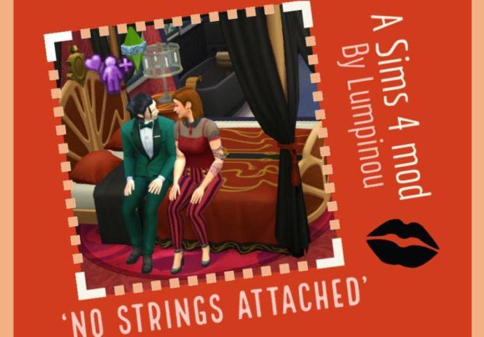 Мод «Вуху без обязательств» от Lumpinou для Sims 4