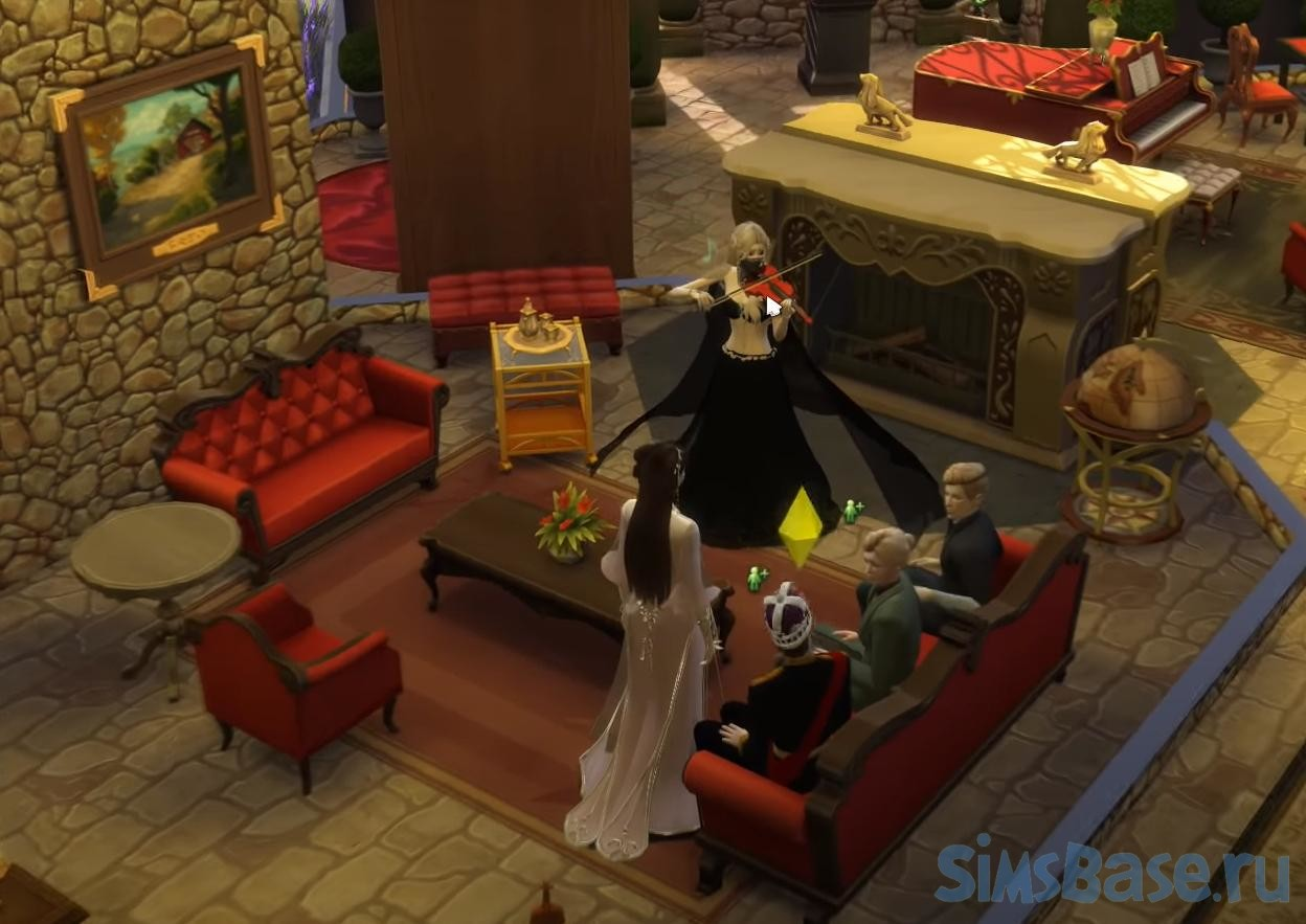 Мод Royalty Mod от llazyneiph для Sims 4