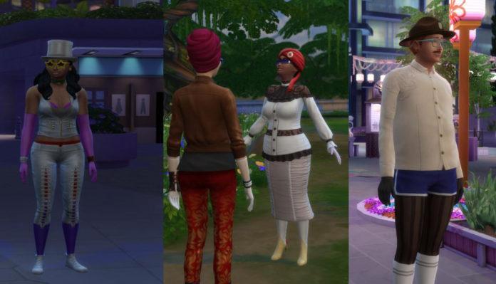 Мод «Нет странной одежды на горожанах» от simthing-clever для Sims 4