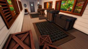 Ресторан «Пароход» от plumbobkingdom для Sims 4