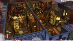 Большой набор СС на тему Гарри Поттер и Хогвартс от разных авторов для Sims 4