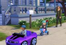 Мод «Велосипеды и машинки для детей и малышей» от Waronk для Sims 4