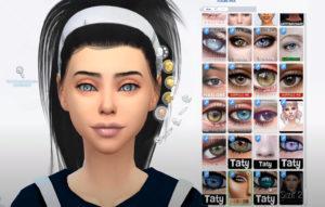 Пак макияжа для Sims 4