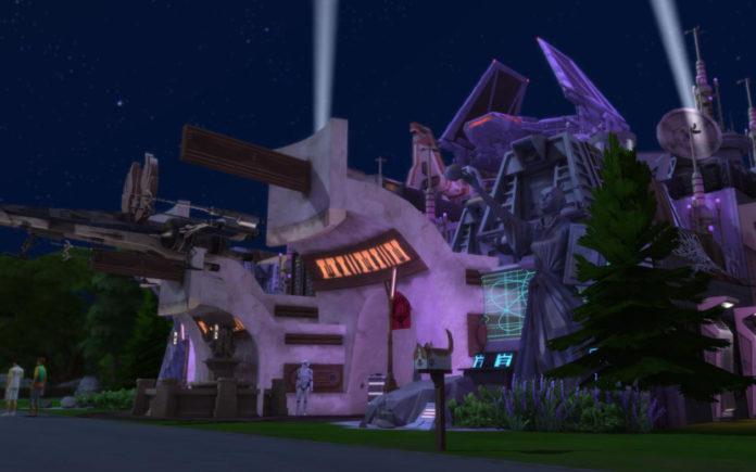 Ночной клуб «Звездные войны» от bradybrad7 для Sims 4