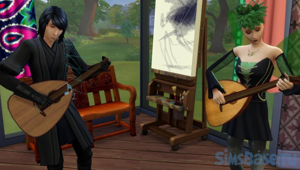 Мод «Средневековые взаимодействия» от MiraiMayonaka для Sims 4
