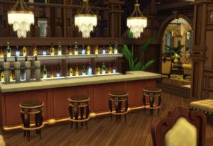 Жилой дом «Классическая вилла» от alexiasi для Sims 4