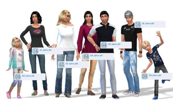 Мод «Реальный возраст симов» от sotaru для Sims 4