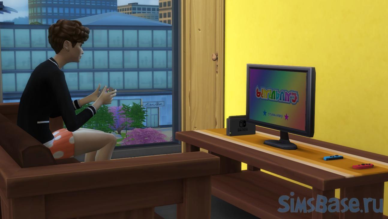 Мод «Запрет автономных действий» от Zero для Sims 4