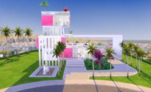 Настоящий дом Барби от Bellusim для Sims 4