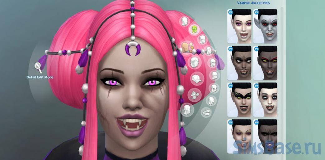 Все способы стать вампиром в Sims 4