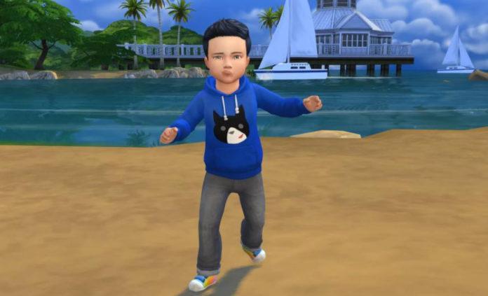 Пак СС для детей для Sims 4