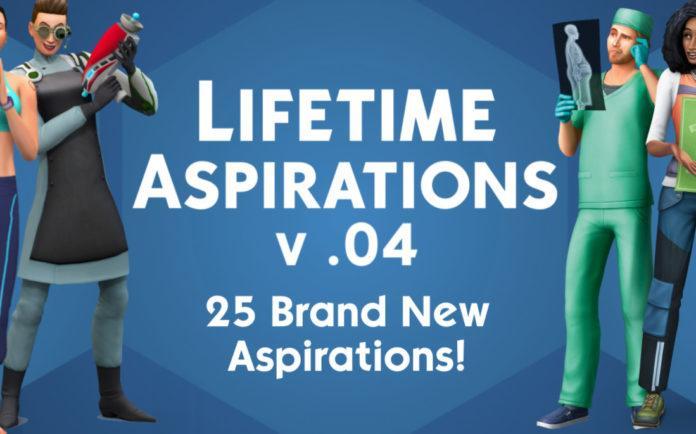 Мод «Глобальное изменение жизненных целей игры» от ky-e для Sims 4