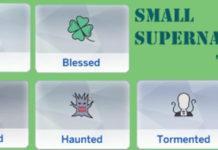 Мод «Сверхъестественные черты характера» от chingyu1023 для Sims 4