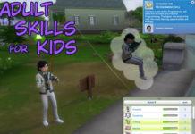 Мод «Все навыки доступны детям» от PBHiccup для Sims 4