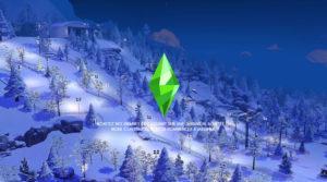 Загрузочные экраны «гора Комореби» от Caradriel для Sims 4