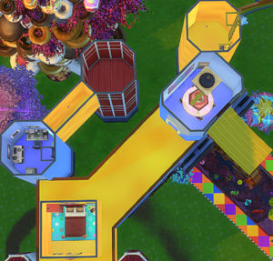 Жилой дом Candy Land от jwjj420 для Sims 4