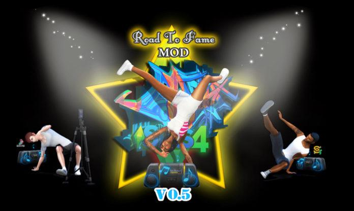 Мод «Дорога к славе или Road to Fame» от Sacrificial для Sims 4