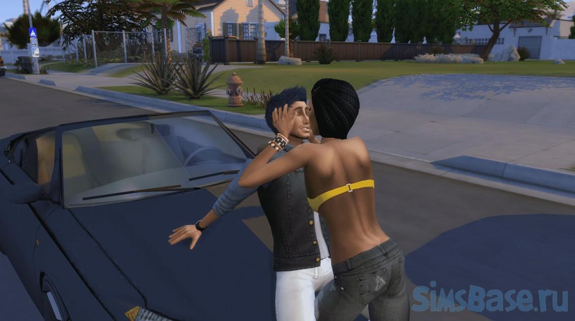 Мод «Страстный роман или Passionate Romance» от SACRIFICIAL для Sims 4