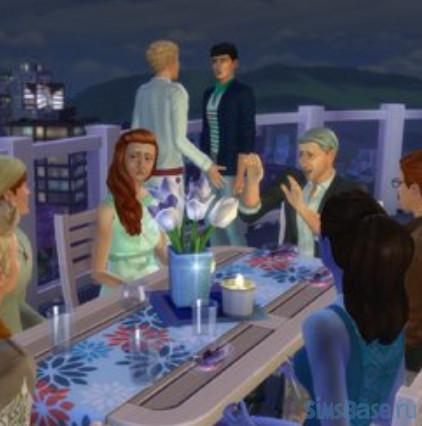 Набор 23 модов для еды от deichschaf для Sims 4