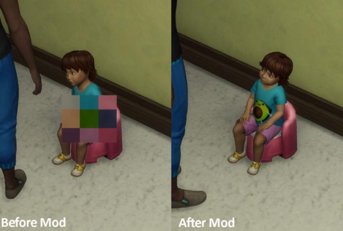 Как убрать цензуру в Sims 4