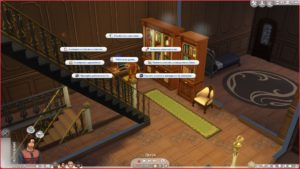 Мод «Удаленная работа» от Kiara для Sims 4