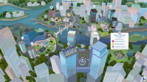 Новый-мир сохранение v.1.1 от Fleuralia для Sims 4