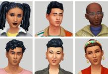 Набор NPC для услуг от Bunnylita для Sims 4